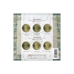 (CNB, CM) - Mint Sets 6 x 20 CZK Year of the Currency 2019 New Issue