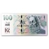 Commemorative banknote 100 CZK 2019 Building Czechoslovak currency + 100 CZK with Print (Obr. 1)