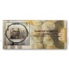 Commemorative banknote 100 CZK 2019 Building Czechoslovak currency + 100 CZK with Print (Obr. 5)