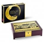 Etuis for World Coin Sets Magic of Gold Collector Case