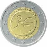 2009 - 2 € Italy - 10th anniversary of Economic and Monetary Union - Unc
