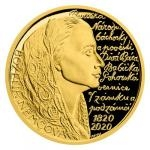 Czech Mint 2020 Gold Half-Ounce Medal Božena Němcová - Proof
