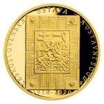 Czech Mint 2020 Gold Half-Ounce Medal Czechoslovak Constitution and Constitutional Court - Proof