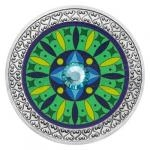 Silver medal Mandala - Health - proof