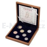 2017 - Czech Coin Set (Wood) - Proof