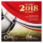 2018 - Mint Coin Set Football World Cup Russia - Unc.