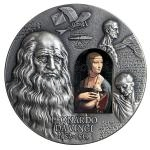 2019 - Cameroon 2000 CFA 500th Anniversary Leonardo da Vinci - Antique