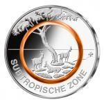 2018 - Germany 5 € Subtropische Zone (A) - UNC