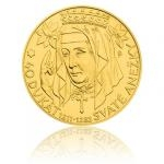 Apostles and Saints 2015 - Niue 250 NZD Gold Investment Coin 40ducat of Saint Agnes - Stand