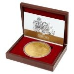 2017 - Niue 8000 NZD Gold 1 Kilo Investment Coin Czech Lion - UNC