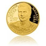 Samoa Gold quarter-ounce coin Legends of Czech Ice hockey - Vladimír Růžička - proof