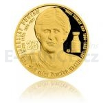 Samoa Gold quarter-ounce coin Legends of Czech Ice hockey - Jaroslav Pouzar - proof