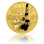 2019 - Niue 10 NZD Gold Coin Path to Freedom - Velvet Revolution - Proof
