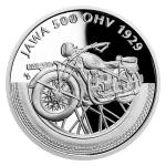 2019 - Niue 1 NZD Silver coin On Wheels - Jawa Motorcycle - proof