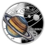 Czech Mint 2021 2021 - Niue 1 NZD Silver Coin Solar System - Saturn - Proof