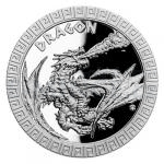 Year of the Dragon 2012 2020 - Niue 2 NZD Silver coin Mythical Creatures - Dragon proof
