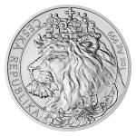 Birthday 2021 - Niue 2 NZD Silver 1 oz Bullion Coin Czech Lion - Standard