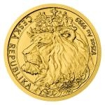 Birthday 2021 - Niue 5 NZD Gold 1/25 Oz Bullion Coin Czech Lion - Standard