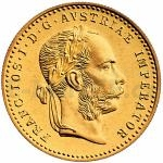 Birthday 1 Ducat 1915 - Austria