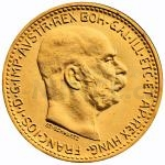 Modern Gold Re-strikes - Austria 10 Crown 1912 - Franz Joseph I.