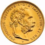 Modern Gold Re-strikes - Austria 8 Gulden 1892 - Austria