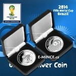 2014 Football Brazil 2014 - Brazil 10 Reais - FIFA World Cup Mascot Fuleco and Stadiums - Proof