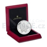 Canada 2013 - Canada 50 $ - 25th Anniversary of the Silver Maple Leaf - Reverse Proof
