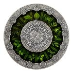 Birthday 2020 - Niue 2 $ Celtic Calendar - Antique Finish