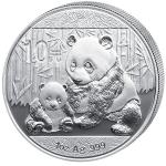 Silver Coins 2012 - China 10 Y China Panda 1 oz