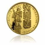 2011 - 5000 CZK Gothic Bridge in Pisek - Proof