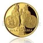 Extraordinary Issues of Gold 2012 - 10000 CZK Golden Bull of Sicily - Proof