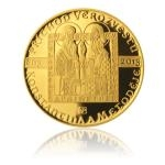 Extraordinary Issues of Gold 2013 - 10000 CZK Arrival of Missionaries Constantine and Methodius - Proof