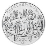 Czech Silver Coins 2020 - 200 CZK Promulgation of Four Articles of Prague - BU