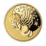 2020 - Niue 5 $ Guardian Angel Gold Coin - Proof