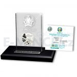 2020 UEFA EURO™ Football (2021) Official UEFA EURO 2020 Referee Coin in Acrylic Block - PL