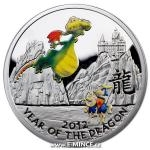 Year of the Dragon 2012 2011 - Niue 1 NZD - Year of the Dragon Kids - Proof