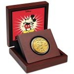 Movies 2014 - Niue 25 $ - Disney Gold Coin - Steamboat Willie - proof