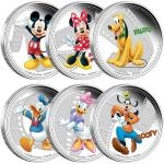 Movies 2014 - Niue 12 $ Disney Mickey & Friends - Proof