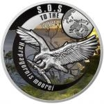 2016 - Niue 100 $ Orel Haastův / Haast´s Eagle - proof