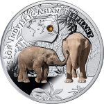 2016 - Niue 1 NZD Slon Indický (Asian Elephant) - proof