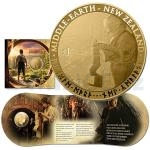 2012 - New Zealand 1 $ - The Hobbit: An Unexpected Journey BU Coin