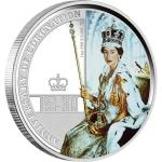 Queen´s Jubilee / Coronation 2013 - Austrálie 1 $ - 60th Anniversary of the coronation of Queen Elisabeth II. - proof