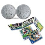 Gifts 2010- Slovakia 3,88 € Coin Set World Cup South Africa - BU