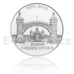 2016 - 200 CZK General Land Centennial Exhibition in Prague - UNC