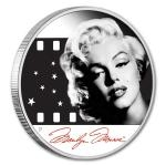 2012 - Tuvalu 1 $ - Marilyn Monroe ™ - Proof