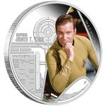 Astronomie a vesmír 2015 - Tuvalu 1 $ Star Trek - Captain James T. Kirk - proof
