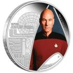 Tuvalu 2015 - Tuvalu 1 $ Star Trek: The Next Generation - Captain Jean-Luc Picard - proof