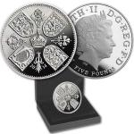 Great Britain 2014 - Great Britain 5 GBP - The First Birthday of Prince George - Proof