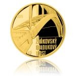 2015 - 5000 CZK Zdakov Arch Bridge - Proof