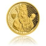700th Anniversary of Charles IV 2015 - Niue 25 $ Gold Half-Ounce 25 NZD Karel IV. Proof Coin